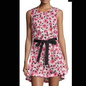 Kate Spade Bay Of Roses Floral Swim Cover-Up